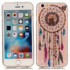 TPU Design Rubber Soft Skin Case Cover For iPhone 6 6s Plus 5s 5 / iPod Touc 5 6