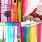 Kyпить Coloful Floral Tulle Voile Door Window Curtain Drape Panel Sheer Scarf Divider на еВаy.соm