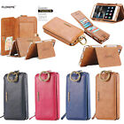 For Huawei Ascend P9 Case Floveme 2in1 Leather Card Slot Wallet Flip Case Cover