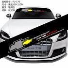 With OR Without Background Front Back Rear Windshield Car stickers For Chevrolet