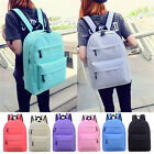 Women's New Backpack Travel Canvas Handbag Rucksack Shoulder School Bag Bags