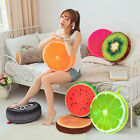 Throw Pillow Round Soft Plush Cushion Seat Pad Fruit Design Couch Chair Sofa Bed