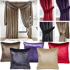 "Velvet 3"" pencil pleat lined curtains - Perfect shades of 5 colours - SMART LOOK"