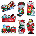 Premier Light Up BATTERY Christmas Window Silhouette - Choose Designs
