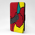 Pop Art Phone PC Leather Flip Case Cover - Iron Man Game - S-T0252
