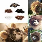 Pet Costume Lion Mane Wig for Cat Halloween Christmas Party Dress Up With Ear TR