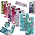 3D Floating Liquid Glitter Bling Stars Hard Back Case Cover For Samsung Galaxy