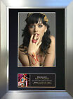 KATY PERRY Signed Autograph Mounted Photo Reproduction A4 Print 232