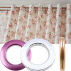 "Dia 2.8"" Plastic Eyelet Drapery Ring Curtain Tape buckle Nano Silencer Ring"