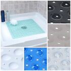 Внешний вид - Large Non Slip Shower Mat with Drain Holes: SlipX Solutions Square Shower Mat