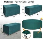 Patio Outdoor Garden Furniture Cover Winter Rectangle Table Chair Protector