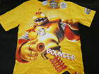 BNWT BOYS SIZE 10 LICENSED SKYLANDERS GIANTS BOUNCER YELLOW TOP NEW