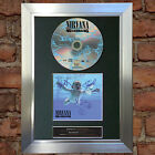 NIRVANA Nevermind Album Signed Autograph CD & Cover Mounted Print A4 no20