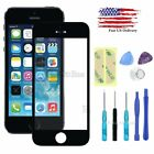 Front Outer Screen Glass Lens Replacement for iPhone 5/5S SE+Repair Tools Kit