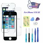 Fa Outer Screen Glass Lens Replacement for iPhone 5/5S SE+Repair Tools Kit