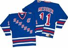 Mark Messier New York Rangers Mitchell  Ness Authentic 1993 Blue NHL Jersey