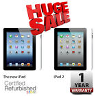 Apple iPad 16GB Black | 2 or 4th Generation (Retina Display) | 1-Year Warranty