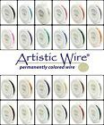 Artistic Wire SILVER PLATED and TARNISH RESISTANT Craft Wires