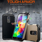 Hybrid Shockproof Armor Silicone Rubber Back Case  For Samsung Galaxy  S5 S6 S7