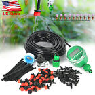 82 Feet DIY Micro Drip Irrigation System Plant Garden Hose Self Watering Kit