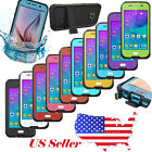 WATERPROOF SHOCKPROOF LIFE PROOF CASE COVER FOR SAMSUNG GALAXY S4 S5 S6 S4 MINI