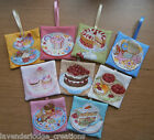 Lavender Bags/Sachets/ Cream Cakes Cupcakes & Tarts Designs Aromatic Lovely Gift