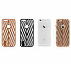 Soft TPU Back Grid Pierced Openwork Shockproof Case Cover For iPhone 6 6s Plus