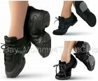 NEW Sansha Capezio Balera Black Jazz Hip Hop Dance Sneakers Child & Adult