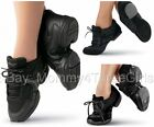 Внешний вид - NEW Sansha Capezio Balera Black Jazz Hip Hop Dance Sneakers Child & Adult