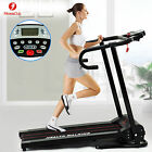 Electric Manual Motorized Treadmill Machine Folding Portable Running Gym Fitness