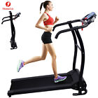 treadmill electric - Electric Manual Motorized Treadmill Machine Folding Portable Running Gym Fitness