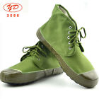 SURPLUS CHINESE ARMY PLA TACTICAL TRAINING LIBERATION SHOES BOOTS ARMY GREEN #12
