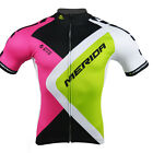 Merida Men's Short Sleeve Cycle Jersey Reflective Bike Wear Top Bicycle Jersey