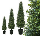 Best Artificial Potted Boxwood Buxus Topiary Outdoor Trees alt ball bay garden