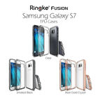 Samsung Galaxy S7 Case, Ringke FUSION Absorb Shock TPU Bumper Case