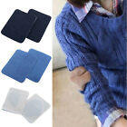 2PCS Jeans Patches Repairs Elbow Knee Sewing Cloth Fabric Cowboy Applique DIY