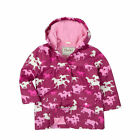 BNWT Hatley Girls Fairy Tale Horses Raincoat NEW Pink Waterproof Coat Jacket