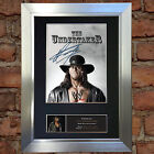 THE UNDERTAKER WWE Signed Autograph Mounted Photo Repro A4 Print no481