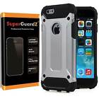 SuperGuardZ® Slim Shockproof Protective Cover Case Armor Shield For iPhone 6S 6