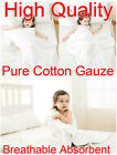 White 95x120cm Baby Soft Comfortable Pure Cotton Gauze Bath Towel Breathable