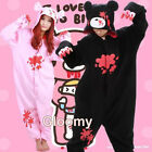 Gloomy Bear Unisex Adult Kigurumi Pajamas Anime Cosplay lovelyJumpsuit Sleepwear