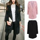 Fashion Women's Warm Faux Fur Long Sleeve Parka Jacket Coat Outwear Overcoat Top