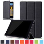 Magnetic Leather Case Smart Stand Cover For Kindle All-New Fire HD8 2016 Release