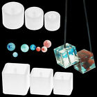 Crystal Silicone Mold Beads Square Bracelet Pendant Mould Jewelry Making Tools