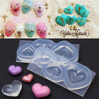 Heart Shell Shape Cabochon Pendant Silicon Mold Mould Epoxy Resin Jewelry Making