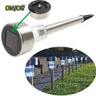 TOPAZ Outdoor Stainless Steel Led Solar Power Light Lawn Garden Landscape Path