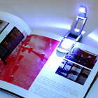 Bright clip on LED Book Light reading Booklight lamp bulb For Kindle TR