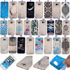 Ultra Thin Case Cover Pattern Soft TPU Silicone For Samsung&iPhone Transparent