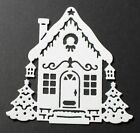 6 Cottage Cutz 'Holiday House' die-cuts on a choice of colours