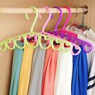 New Colorful Coat Clothes Shirt Scarf Tie Organizer Holder Hanger